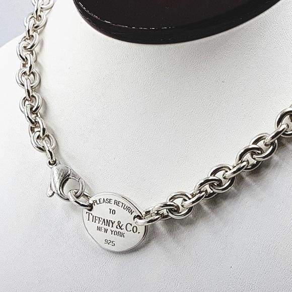 5ae4b59d2 Tiffany & Co. Jewelry | Tiffany Link Necklace | Poshmark